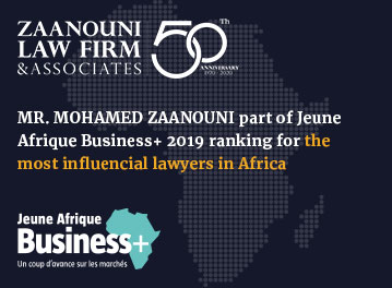 Jeune Afrique Business+ Awards: Mr. Mohamed Zaanouni ranked among the top 100 corporate lawyers in Africa